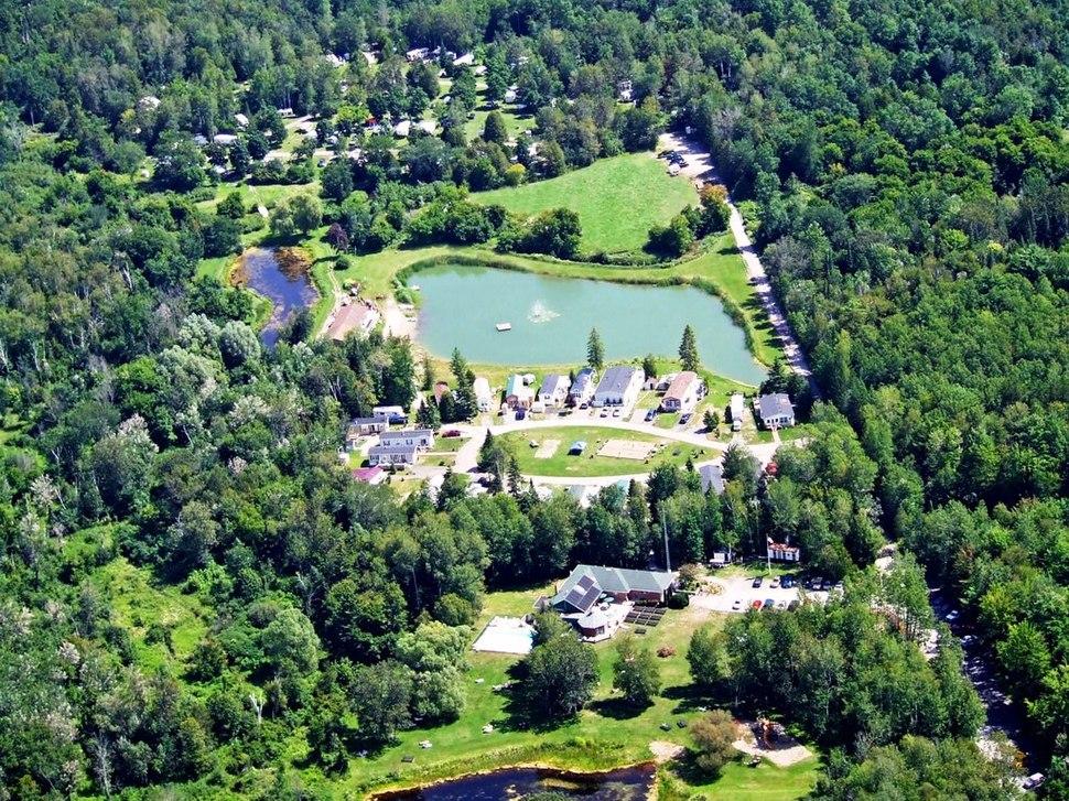 Bare Oaks Aerial