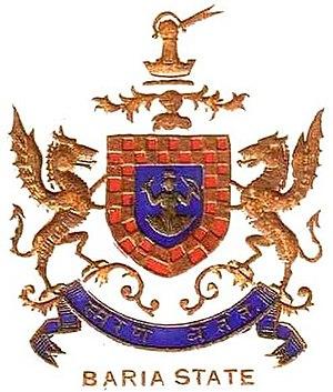 Baria State - Image: Baria state coa