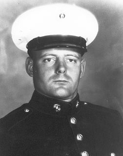 Jedh Colby Barker United States Marine Corps Medal of Honor recipient