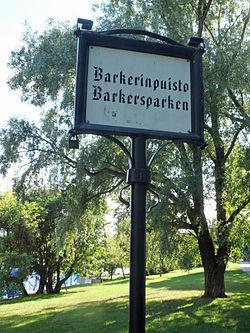 Barkerinpuisto
