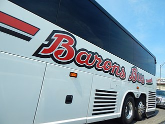 Barons Bus Lines - Image: Barons Bus Lines