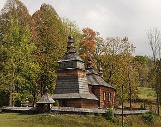 Bartne Village in Lesser Poland, Poland