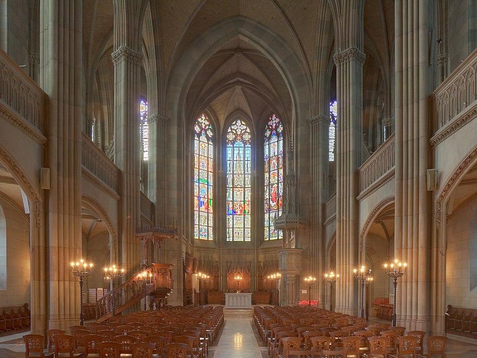 Basel Elisabethenkirche innen