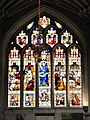 Bath Abbey, stained glass windows. Оконные витражи. - panoramio.jpg