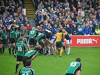 Connacht Rugby - 2006–07 European Challenge Cup tie between Bath and Connacht