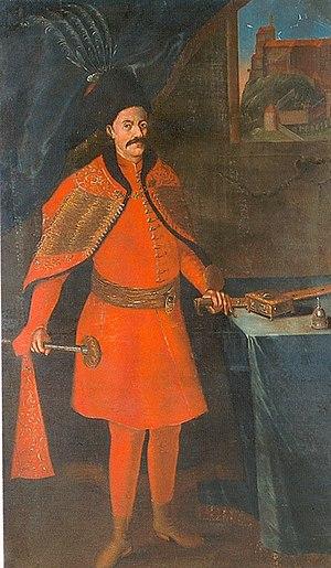 Ferenc Batthyány - Portrait of Ferenc Batthyány, c. 1550