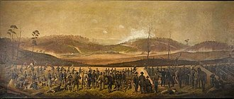 Battle of Resaca - The Battle of Resaca by James Walker.