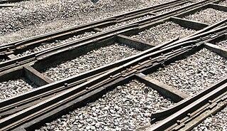 Baulk road type of railway track