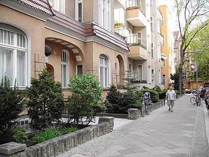 Cómo llegar a Bayerisches Viertel en transporte público - Sobre el lugar