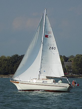 Bayfield 25 - Image: Bayfield 25 sailboat 1357