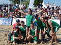 Beachvolleyball-Team Sturm der Liebe.JPG