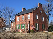 Beall-Dawson House, on West Montgomery Avenue near Rockville Town Center, was built in 1815. The home was owned by Upton Beall, Clerk of the Montgomery County Court.