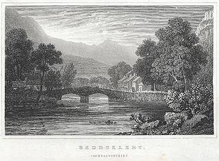 Beddgelert, Caernarvonshire
