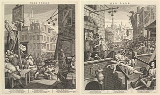 two prints by William Hogarth