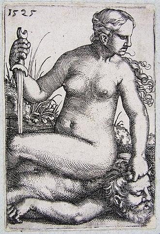 Barthel Beham - Image: Beham Judith