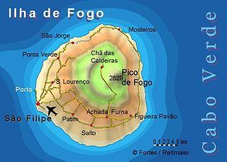 Fogo, Cape Verde Island of Cape Verde