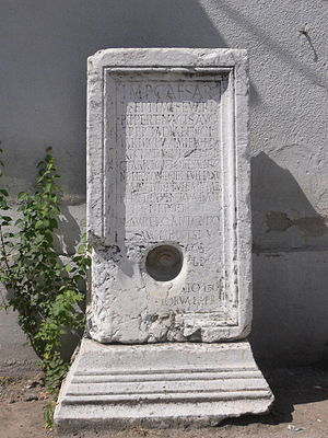 Origin of the Romanians - Latin inscription in Remesiana, Serbia