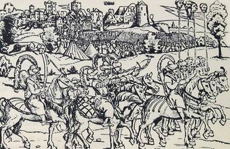 Siege of Güns - Edward Schön: Siege of Güns