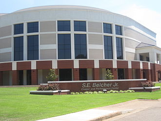 Longview, Texas - S.E. Belcher, Jr. Chapel and Performance Center at LeTourneau University