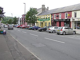 Belcoo Village and townland in County Fermanagh, Northern Ireland