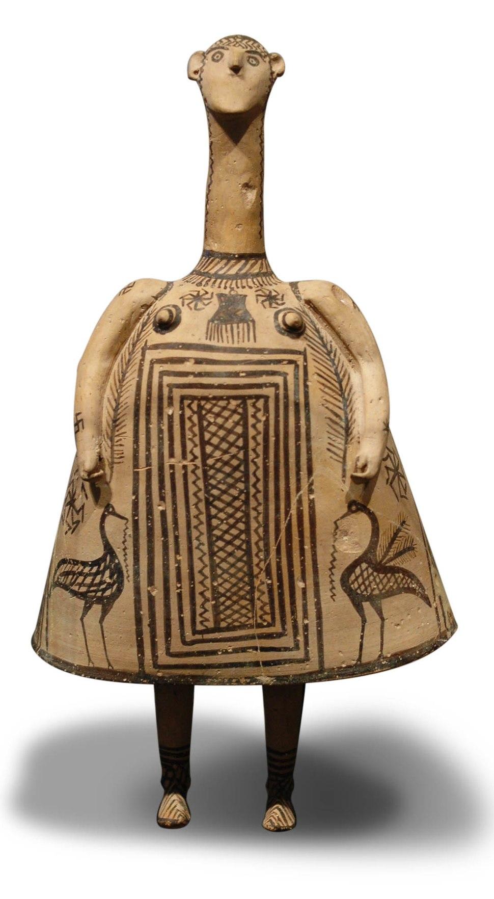 Bell idol Louvre CA 573 √