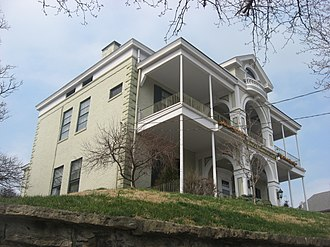 Bellevue (Newport, Kentucky) - Image: Bellevue in Mansion Hill, Newport