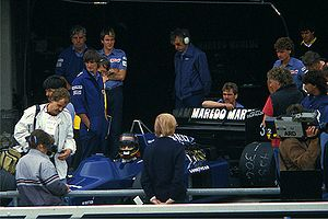 1985 FIA Formula One World Championship - Bellof at the 1985 German Grand Prix.