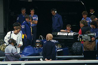 Stefan Bellof - Bellof at the 1985 German Grand Prix.