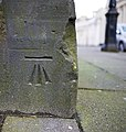 Bench Mark, Belfast - geograph.org.uk - 1731770.jpg