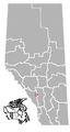 Benchlands, Alberta Location.png