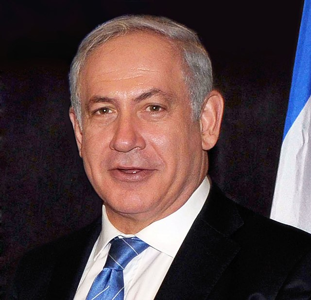 From commons.wikimedia.org: Benjamin Netanyahu, From Images