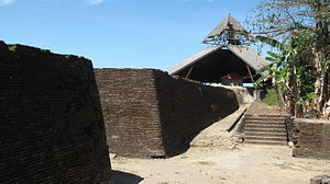Early history of Gowa and Talloq - The fortress of Somba Opu, where Tunipalangga lived and fortified with brick walls