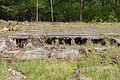 Bergen-Belsen concentration camp - foundations of disinfection building - 03.jpg