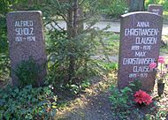 Berlin Friedrichsfelde Zentralfriedhof, Pergolenweg - Scholz + Christiansen-Clausen