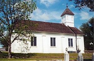 Bethlehem Lutheran Church (Round Top, Texas) - Image: Bethlehem Lutheran Church, Round Top, TX