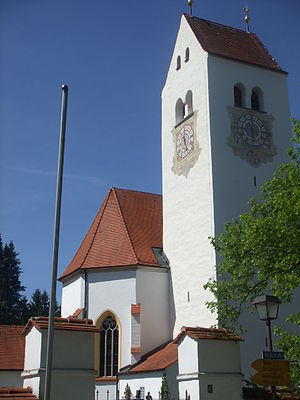 Betzigau - Saint Afra Church