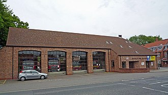 Humberside Fire and Rescue Service - Image: Beverley Fire Station geograph.org.uk 820569