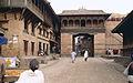 Bhaktapur Little Buddha film set.jpg