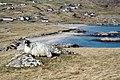 Bhaltos with a posing sheep - geograph.org.uk - 853900.jpg