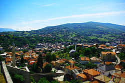 Skyline of Travnik