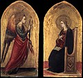 Bicci di Lorenzo - The Angel and the Virgin of Annunciation - WGA2151.jpg