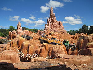 Big Thunder Mountain Railroad - Big Thunder Mountain Railroad at the Magic Kingdom