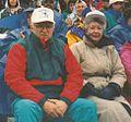 Bill and Carol Greiner at UB Homecoming Football Game, Amherst, New York, October 1992.jpg