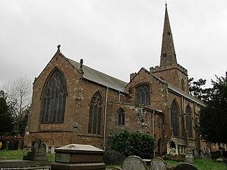 Bilton, Warwickshire - Image: Bilton Saint Marks Church (geograph 2809143)