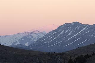 Binboğa Mountains Mountain range in Turkey