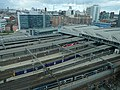 Birds eye view of Leeds railway station (geograph 6105166).jpg