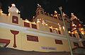 Birla Mandir, Delhi, views at night2.JPG