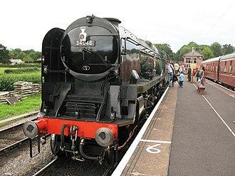 Bishops Lydeard railway station - Image: Bishops Lydeard 34046