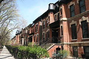 Lincoln Park, Chicago - Bissell Street District in the Lincoln Park neighborhood.