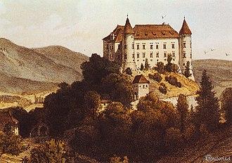 Bizeljsko Castle - Image: Bizeljsko Castle 1864